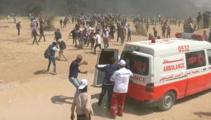 """""""Апокалиптические"""" беспорядки в Палестине: Израиль применил беспилотники с газом"""