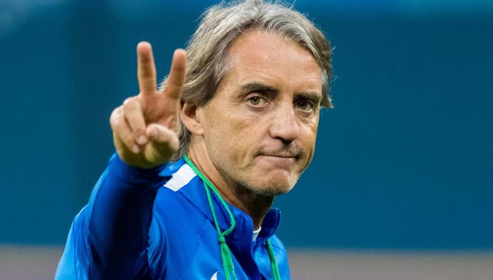 Манчини согласился тренировать сборную Италии за 2 млн евро