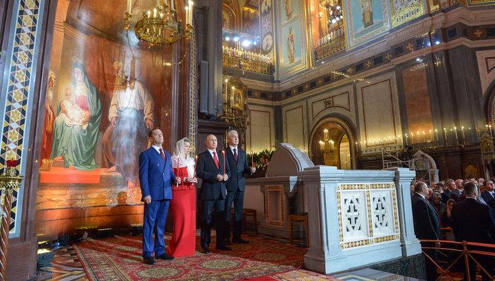 Владимир Путин поздравил всех православных с праздником Пасхи
