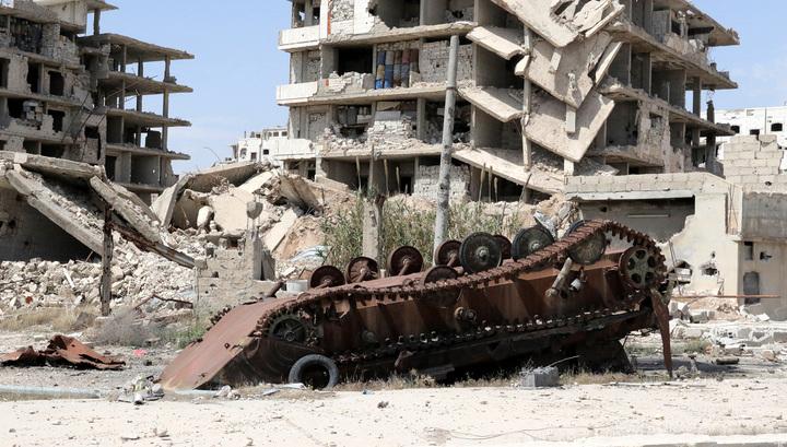 Сирийские силы ПВО отразили атаку с воздуха