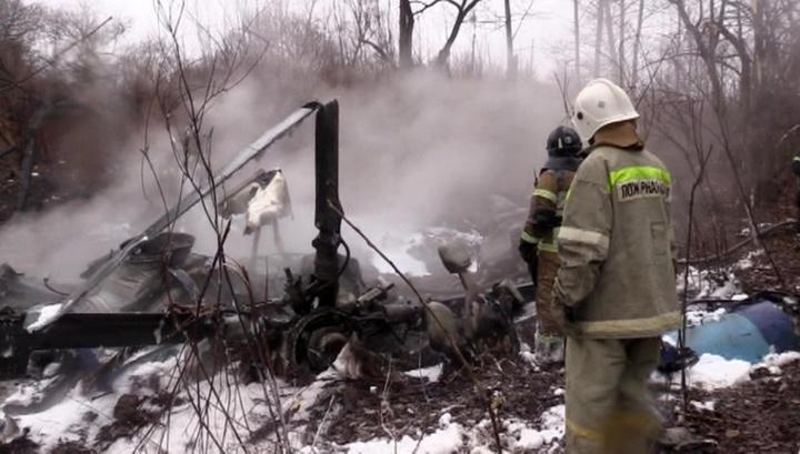 Эксперты МАК прибыли в Хабаровск для осмотра места падения вертолета Ми-8