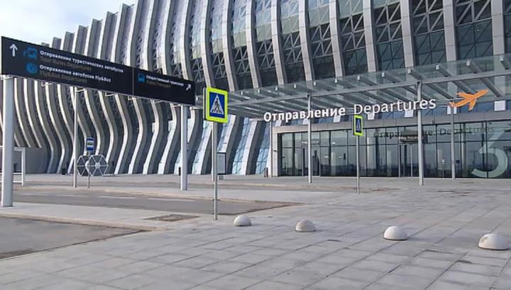 В Симферополе новый терминал аэропорта принял первых пассажиров