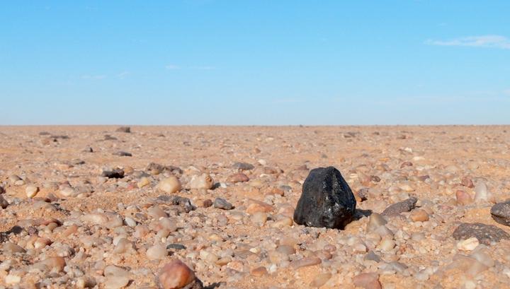 На Землю упал уникальный метеорит