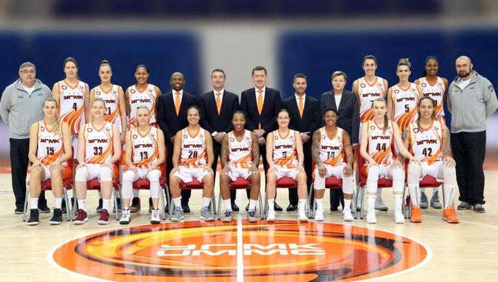 Баскетболистки УГМК успешно стартовали в Евролиге