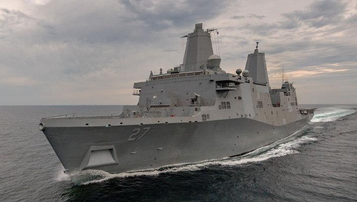 В США ввели в строй корабль, на котором установят лазерную пушку