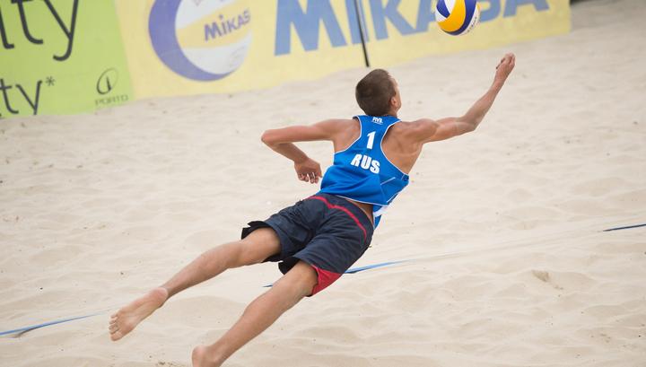 Пляжный волейбол. Стояновский и Величко стали победителями этапа Мирового тура