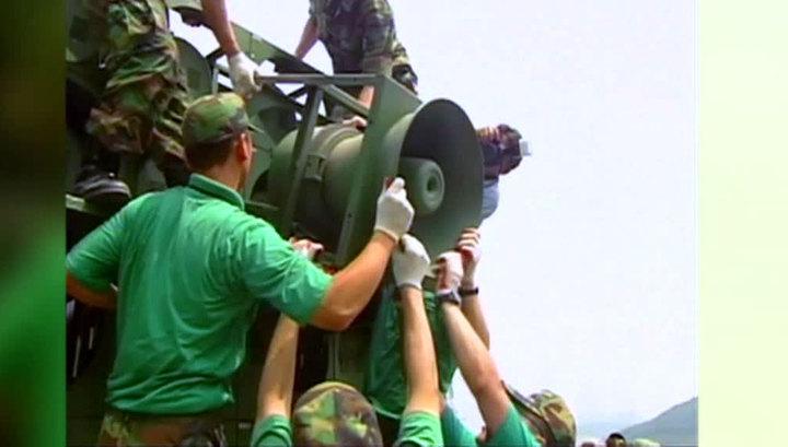 Южная Корея выключила громкоговорители на границе с КНДР