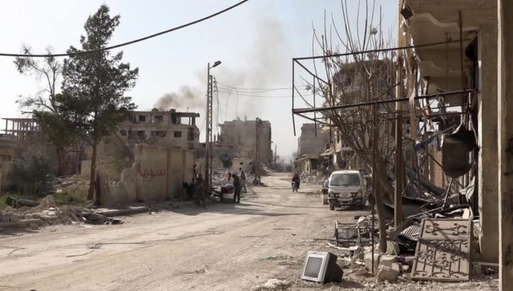 Гута вновь обстреляна боевиками