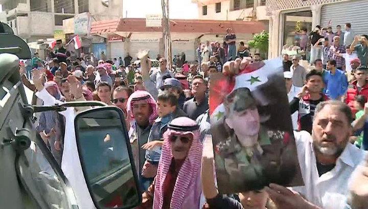 Войска Сирии освободили Восточный Каламун от боевиков