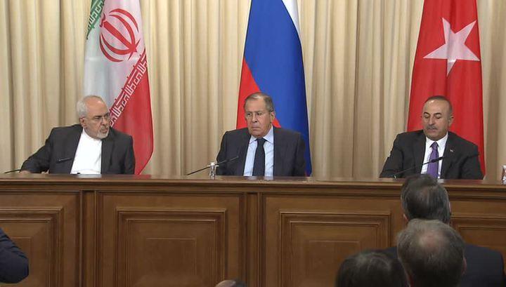 Россия, Турция и Иран - за целостность Сирии, а Запад хочет ее развалить