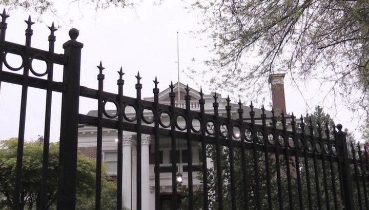 В США сняли российский флаг с резиденции генконсула РФ