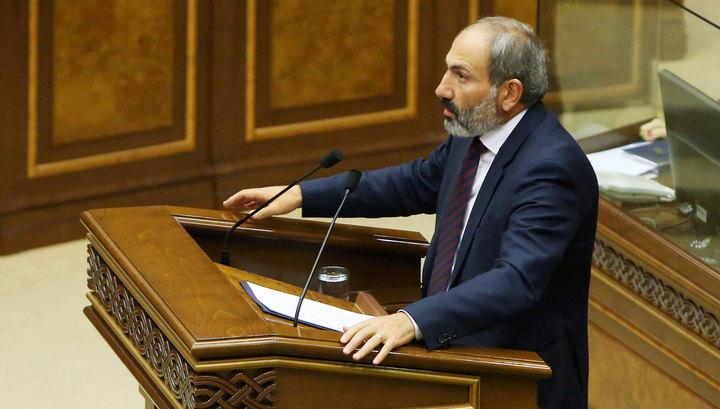 Премьер Армении Пашинян подал в отставку