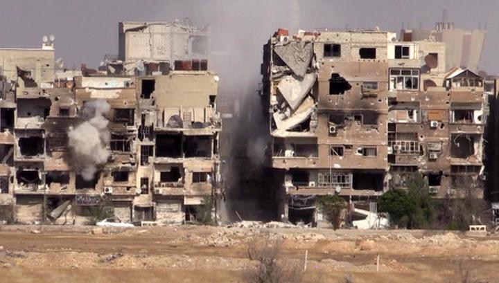 Армия Асада зачищает последний оплот террористов в Дамаске