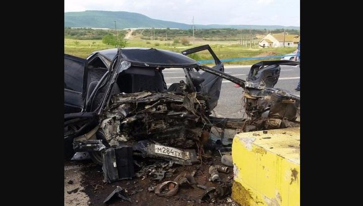 """Авария, унесшая жизни трех человек на федеральной трассе """"Кавказ"""""""