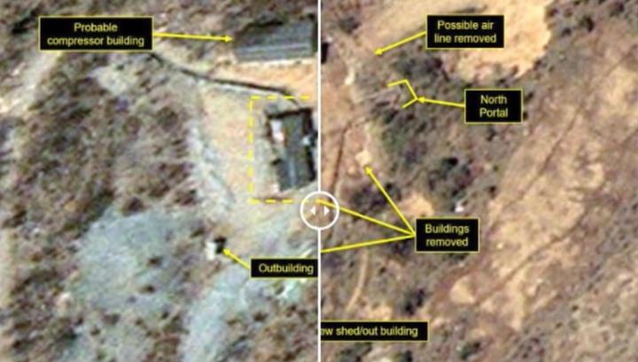 Северная Корея начала демонтаж крупнейшего ядерного полигона