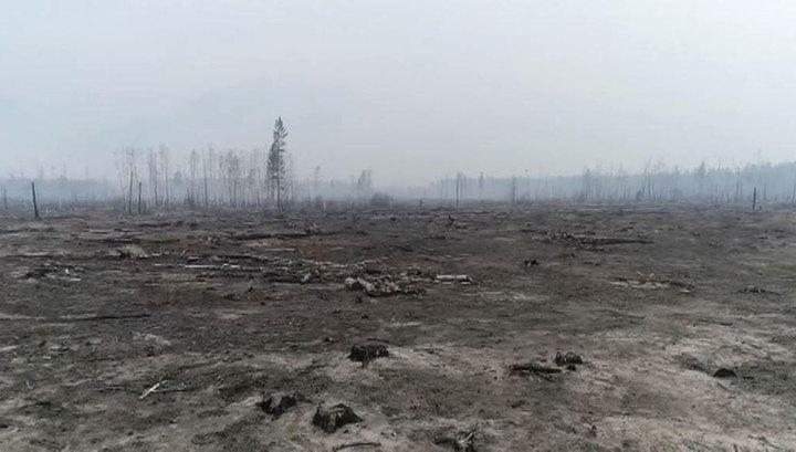 Лесной пожар в Бурятии: горят две тысячи гектаров