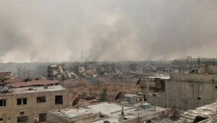 Очередная победа сирийской армии. Лагерь беженцев Ярмук очищен от террористов
