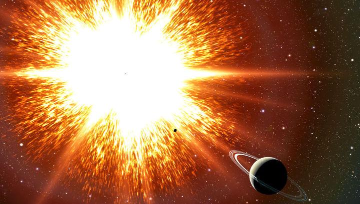 Вспышки сверхновых породили излучение, достигшее Земли.