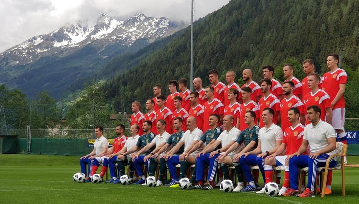 Сборная России по футболу прошла допинг-контроль