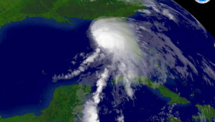 Шторм «Альберто» движется к Мексиканскому заливу