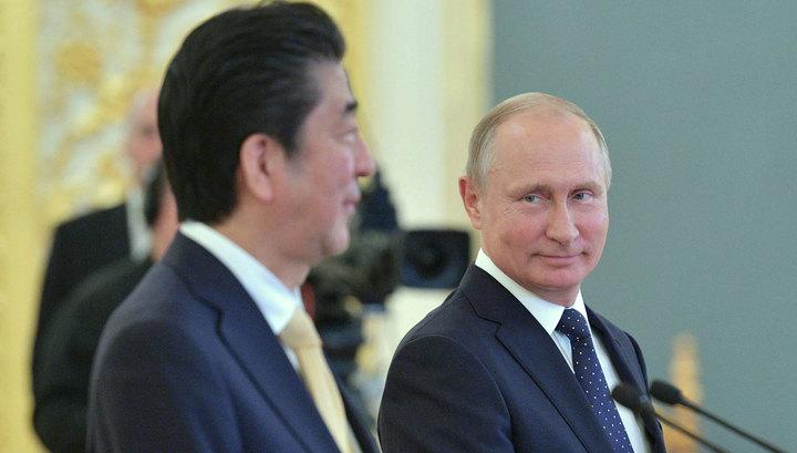 """Путин и Абэ """"обменялись самыми откровенными мнениями"""""""