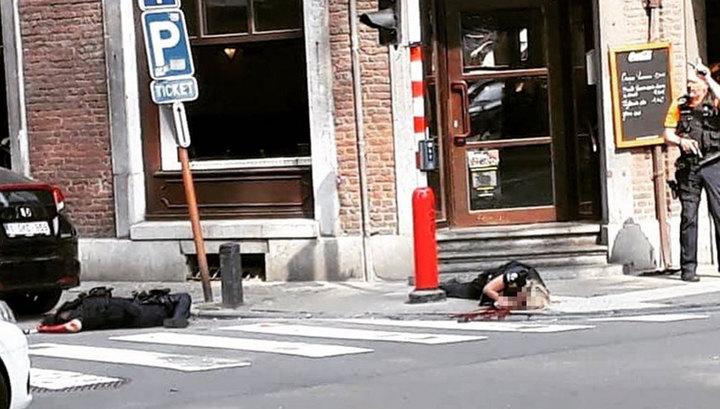 Неизвестный убил двоих полицейских и прохожего в бельгийском Льеже
