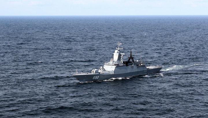 Два корвета Балтфлота сопровождают американские эсминцы с ракетами