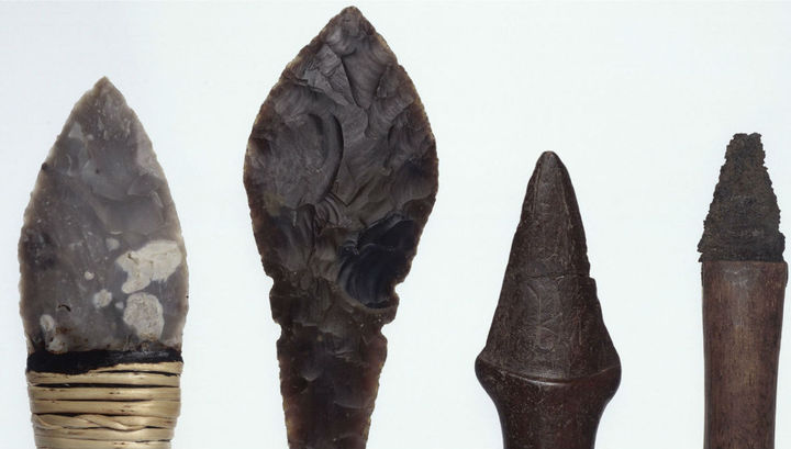 Неолитическое оружие использовалось не только для охоты, но и для убийства себе подобных.