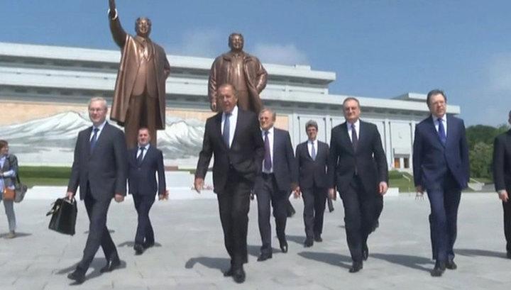 Лавров: ядерная проблема КНДР не решится, пока действуют санкции