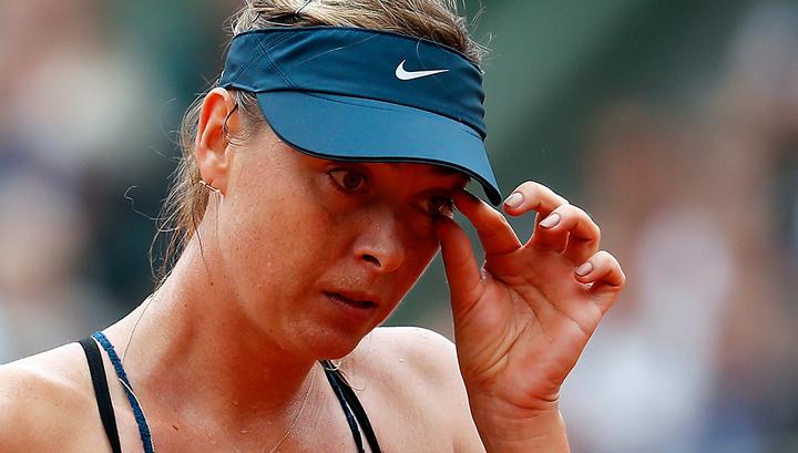 Мария Шарапова снялась с турнира WTA в Великобритании