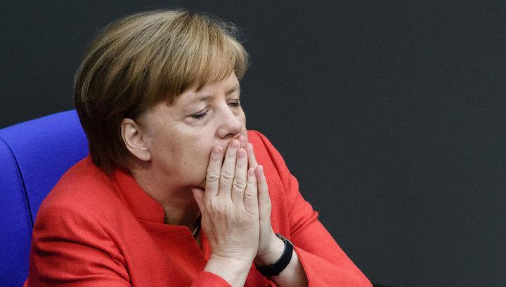 Канцлер Германии Ангела Меркель не придет на банкет Штайнмайера в честь Эрдогана