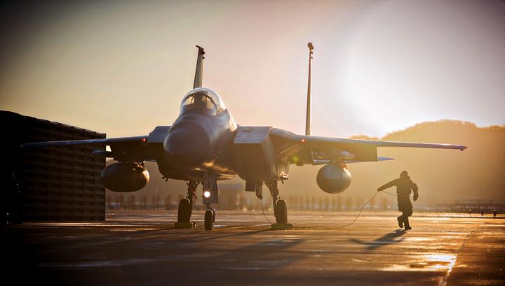 В Японии разбился истребитель ВВС США