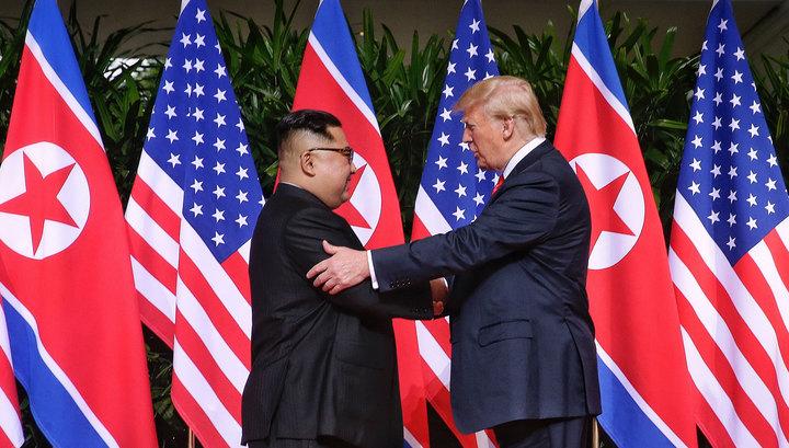 Трамп поблагодарил Ким Чен Ына