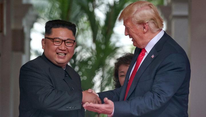Путин высоко оценил встречу Трампа и Кима