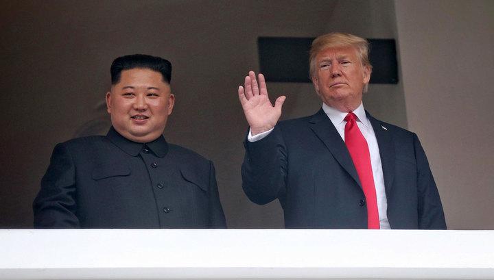 """Трамп: между США и Северной Кореей развивается """"особая связь"""""""