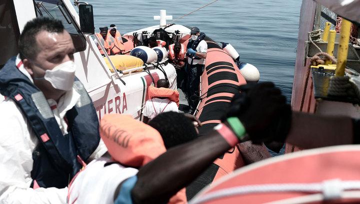 Франция примет мигрантов с судна Aquarius, но не всех, а избранных