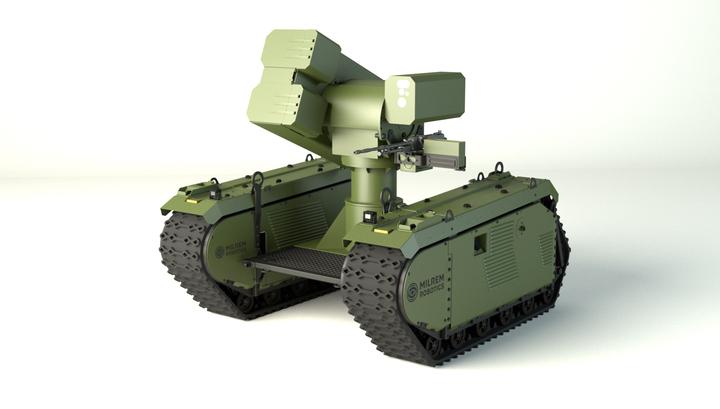 Эстонского робота вооружат противотанковыми ракетами