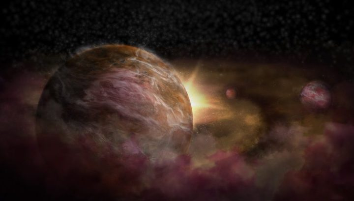 Юные планеты скрыты от земных наблюдателей облаками газа и пыли. Астрономам пришлось придумать новый метод, чтобы их обнаружить.