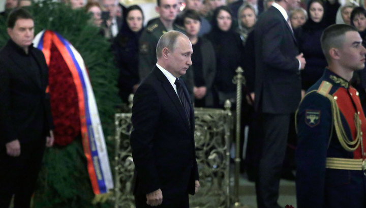 Путин: Говорухин был настоящим патриотом, его звезда будет ярко светить на небесах