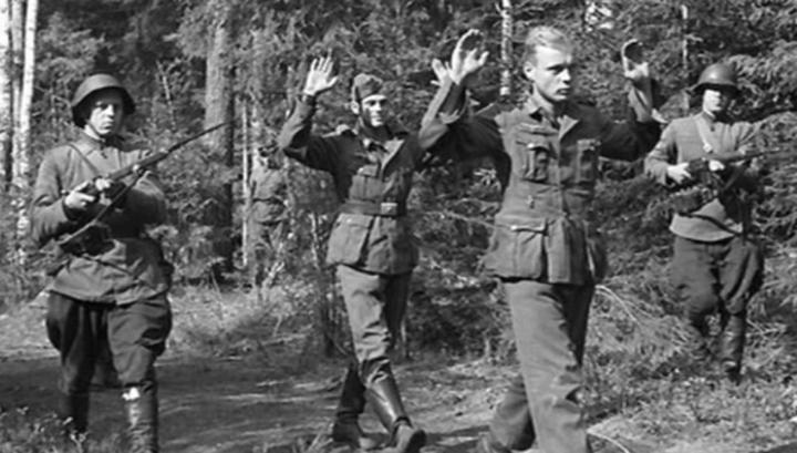 пленные фашисты
