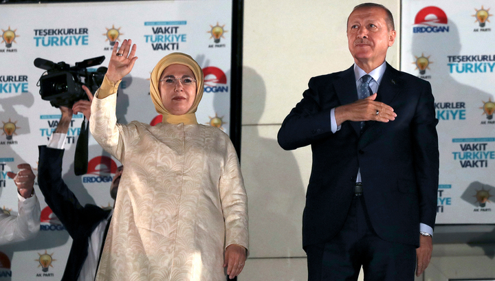 Реджеп Тайип Эрдоган: на выборах в Турции победила демократия
