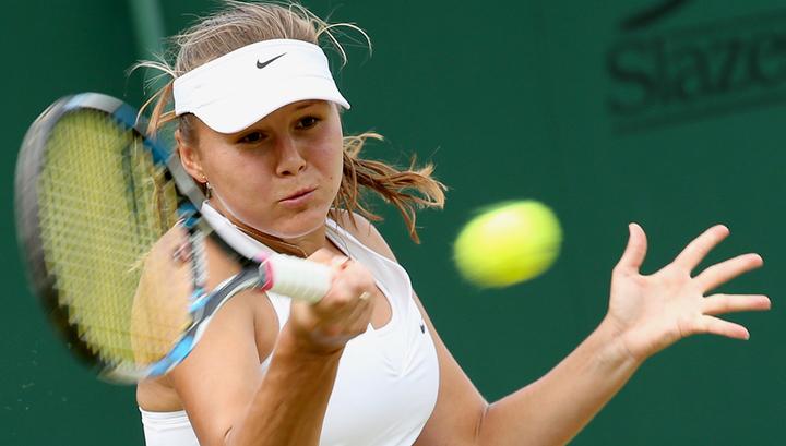 Теннисистка Родина завершила выступление на турнире Moscow River Cup