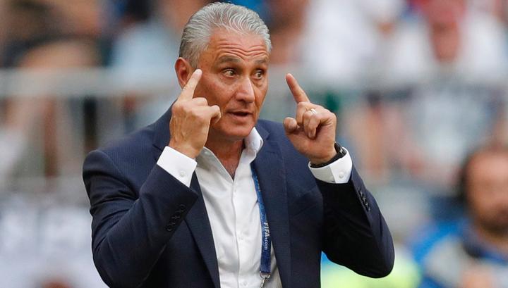 Тренер сборной Бразилии Тите: мы нанесли 21 удар по воротам, если кто забыл
