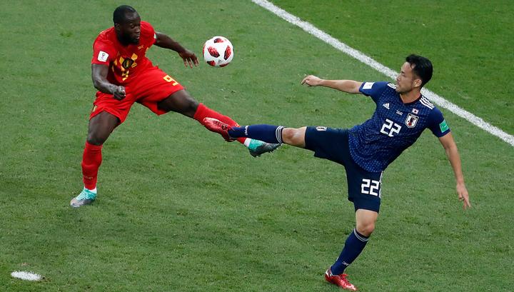 В матче сборных Бельгии и Японии пока 0:0