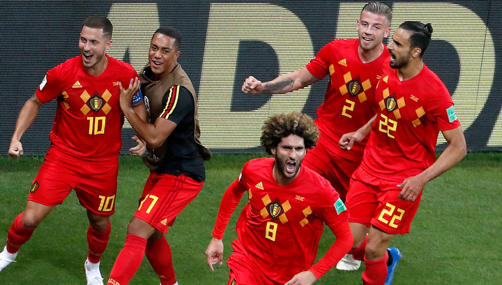 Бельгийцы отыграли два мяча и победили сборную Японии