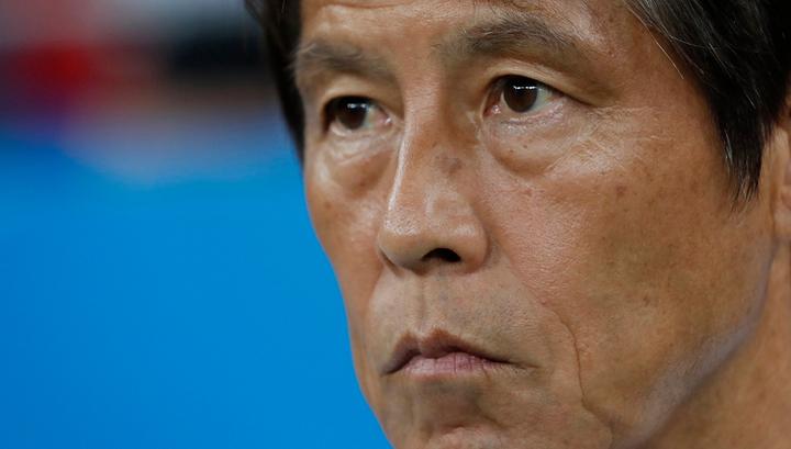 Тренер сборной Японии Нисино взял вину за поражение на себя