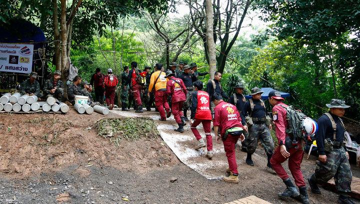 Восьмой ребенок выведен из тайской пещеры