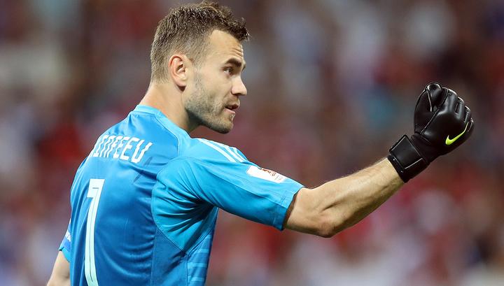 Акинфеев стал рекордсменом по числу сыгранных матчей за один клуб
