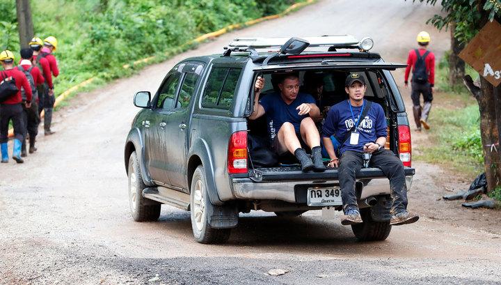 Из пещеры Кхао Луанг вывели шестого и седьмого ребенка