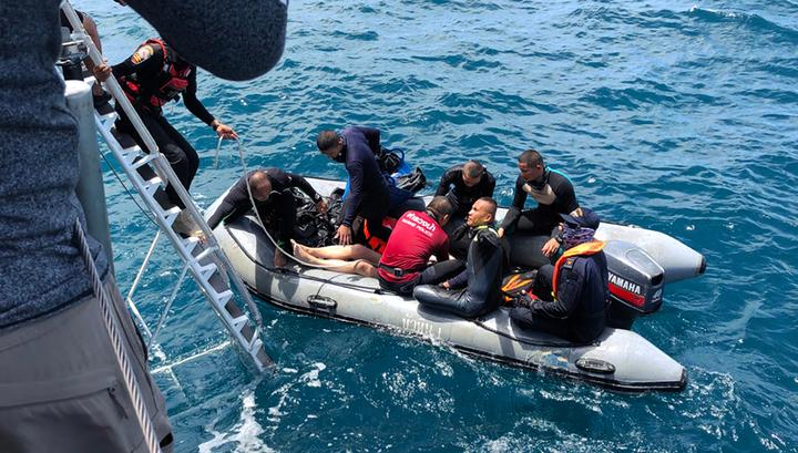 Названа возможная причина крушения теплохода в Черном море